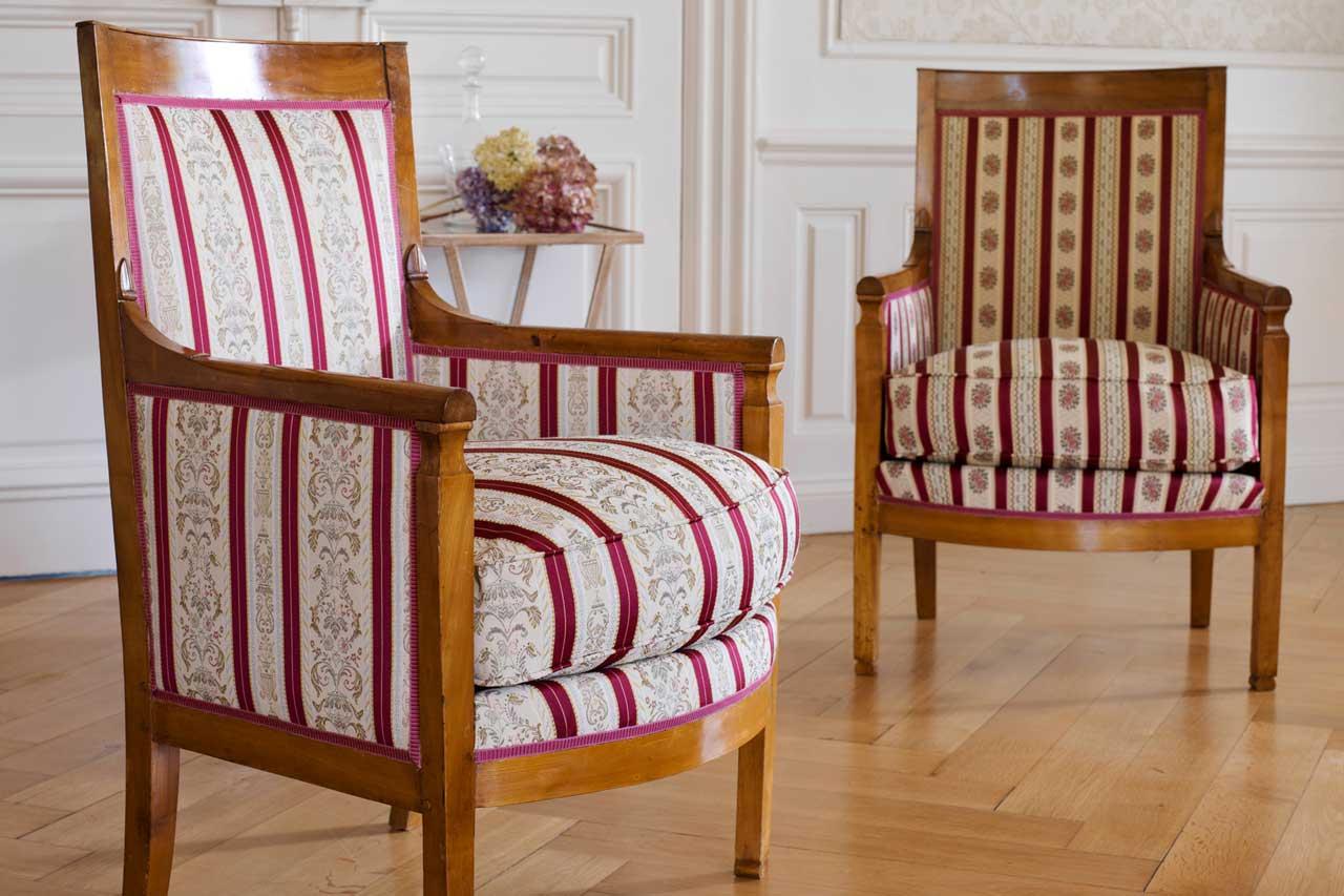 tissus directoire rivoli. Black Bedroom Furniture Sets. Home Design Ideas